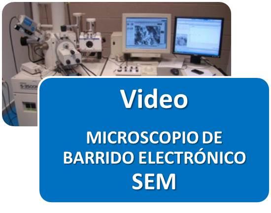 VIDEO DE MICROSCOPIO DE BARRIDO ELECTRÓNICO SEM