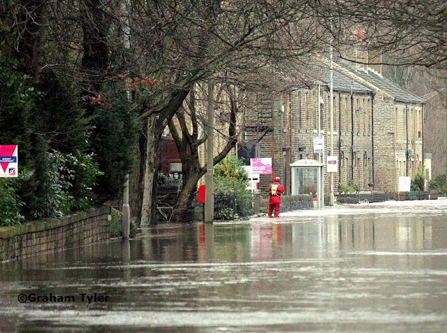 Elland Flooding 1 2