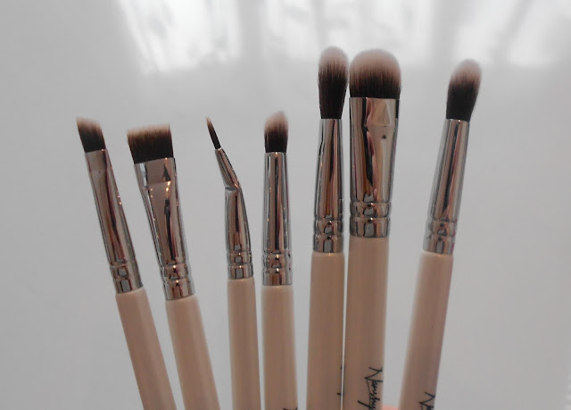 nanshy eye brush kit makeup brushes