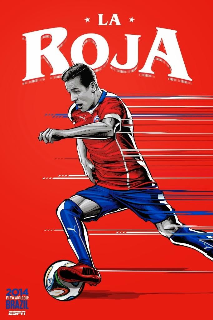 Chile Team FIFA 2014
