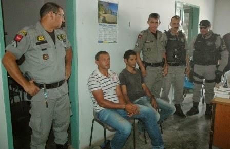 Ladrões de bode são presos em São João do Tigre