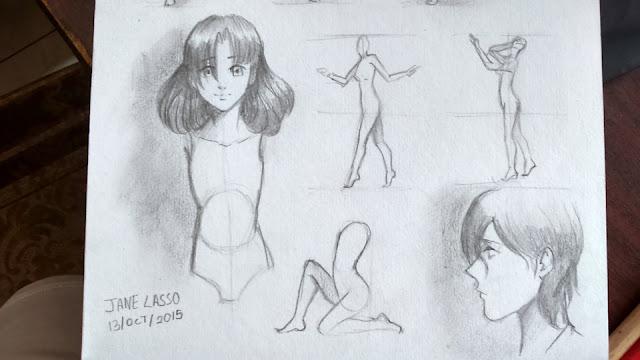 Dibujos en lápiz
