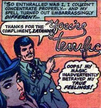 Supergirl #7, Zatanna loves Tony