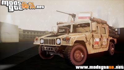 SA - Polish HMMWV