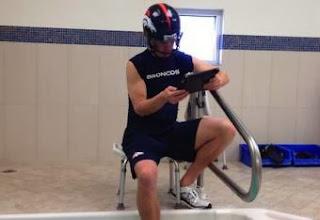 Peyton manning tub