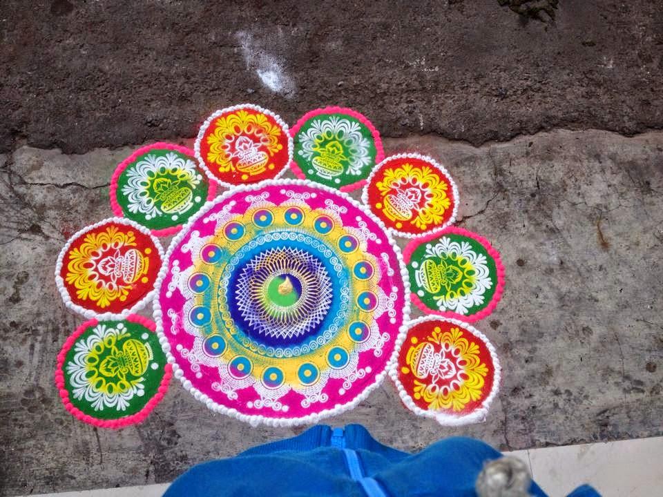Rangoli Diwali Collection 13