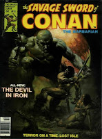 Savage Sword of Conan #15, The Devil in Iron