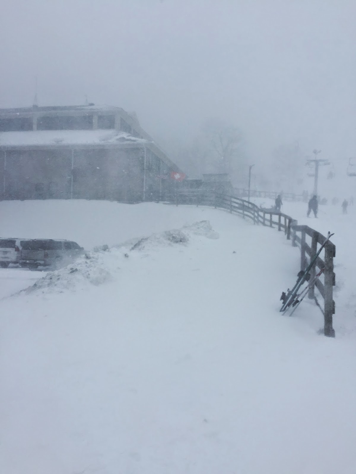 windy, snow, storm, blue ridge, wintergreen resort, Virginia