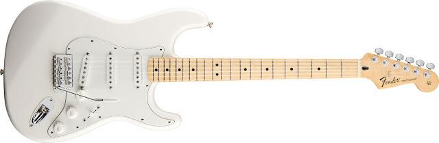 White Stratocaster