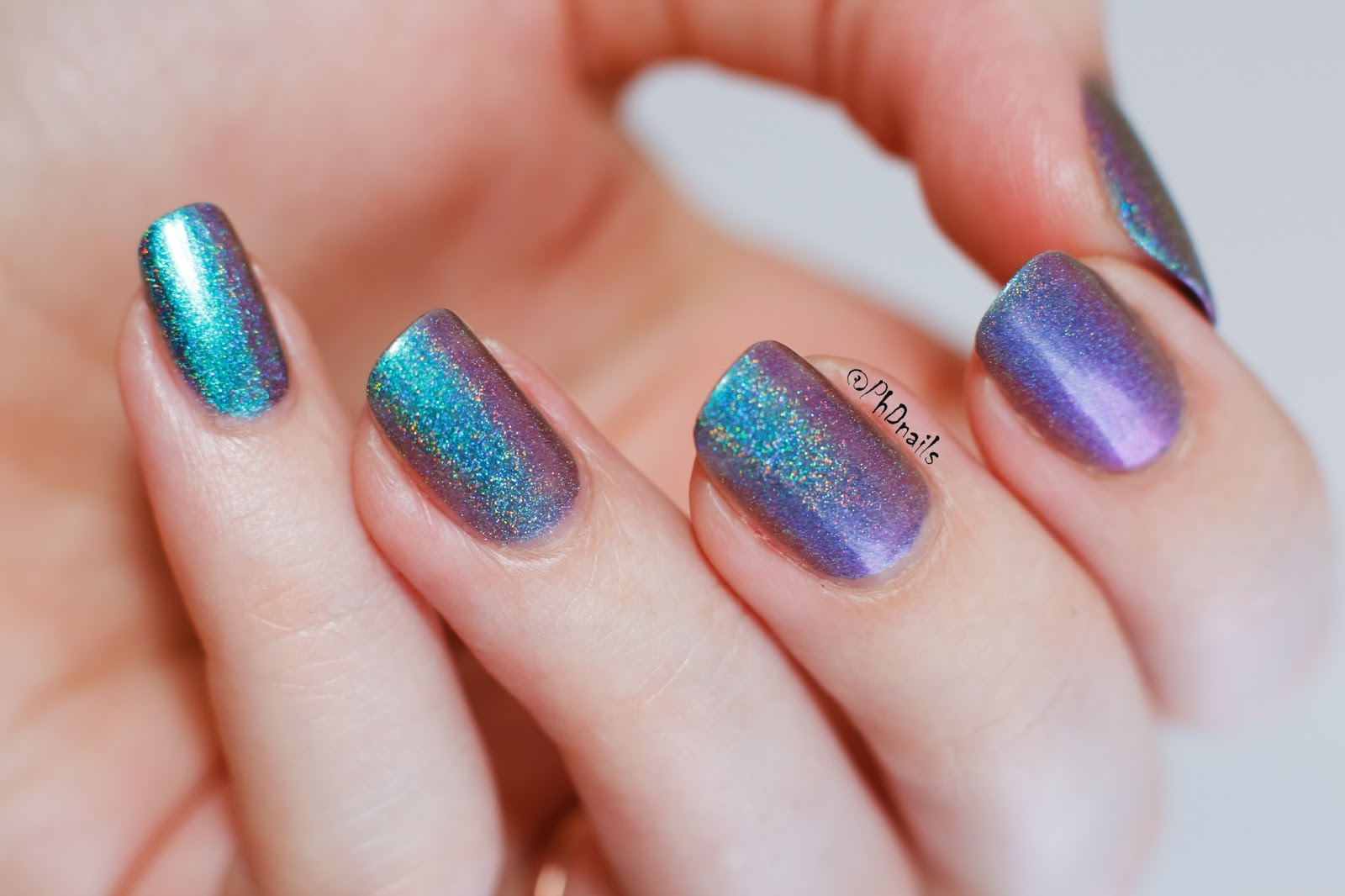 PhD nails: June macro challenge: Enchanted polish Kids swatch.