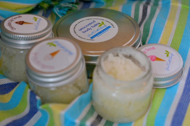natural ice cream sugar lip scrub