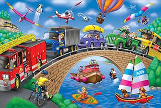 Дорожное движение для детей важнее