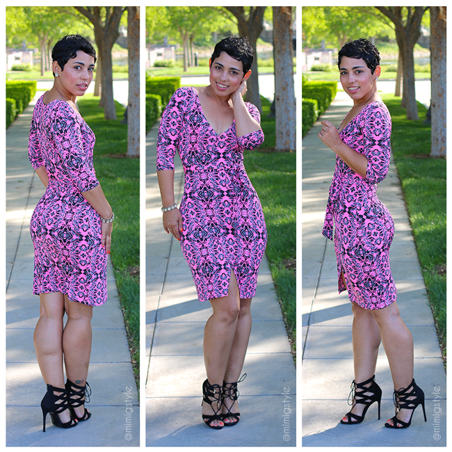 DIY Dress And Steve Madden Pumps