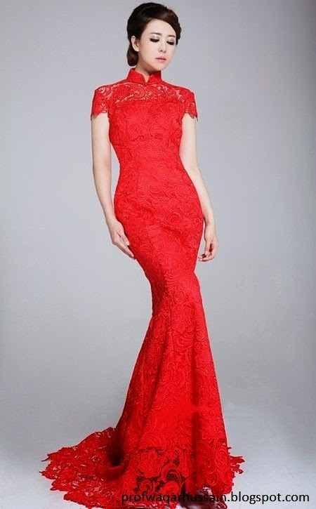 Red Bride Dresses