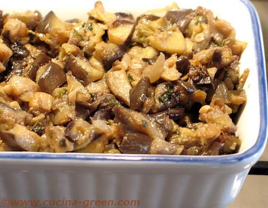 MELANZANE IN PADELLA CON POCO OLIO - Cucina Green