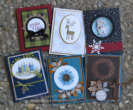 Saturday Stampers / 2 Fall / 4 Christmas Cards / Sneak Peek Coming Soon