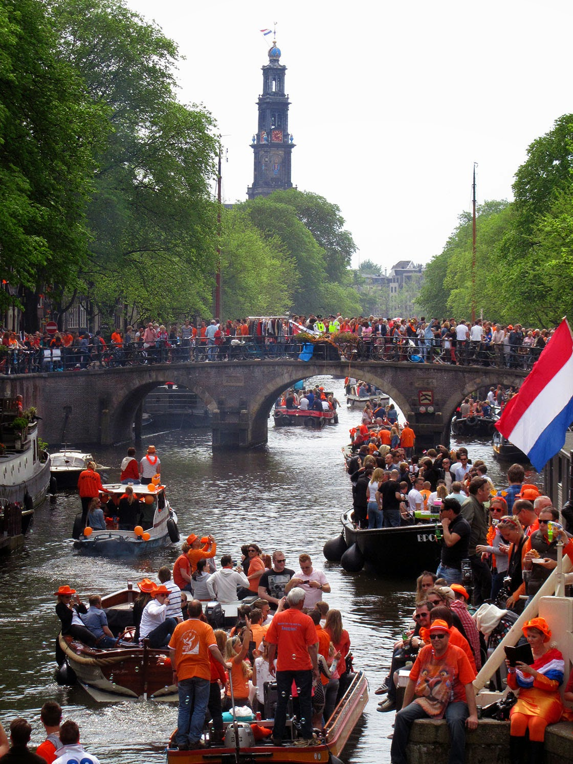 crowds on King's Day