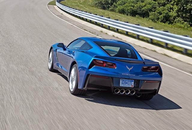 2014 Corvette Stingray Gets Up to 30 MPG