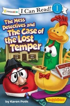 The Mess Detectives and The Case of the Lost Temper {Karen Poth} | #booklook #bookbloggers #icanread #veggietales