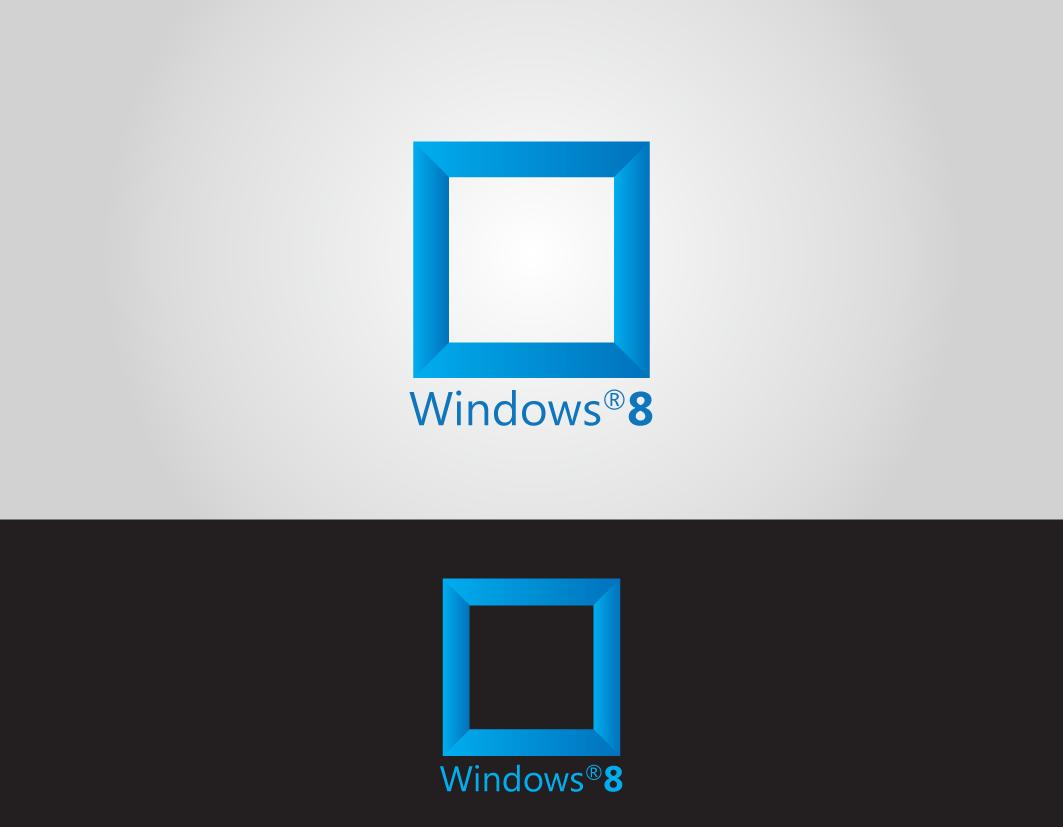 Very popular logo logo windows 8 part 04 for Window design ms