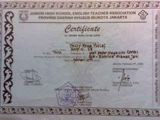Piagam kegiatan Pramuka => Jambore Daerah (Jamda) & Saka Dirgantara