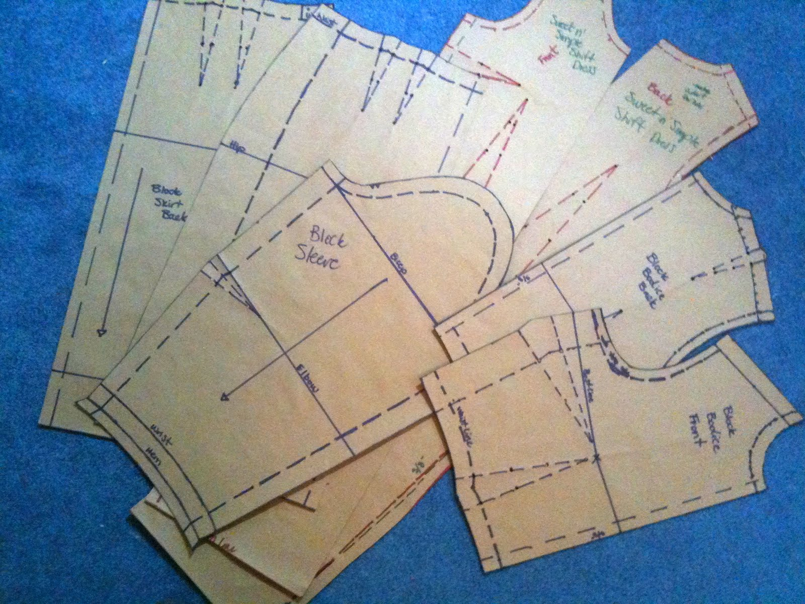sewing pattern paper Keep patterns complete and pin-hole free with pattern making paper use a  pencil and this easy-to-see-through paper to trace only the size you need from.