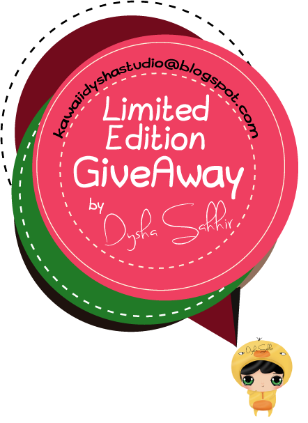 Limited Edition Giveaway By Dysha Sahhir