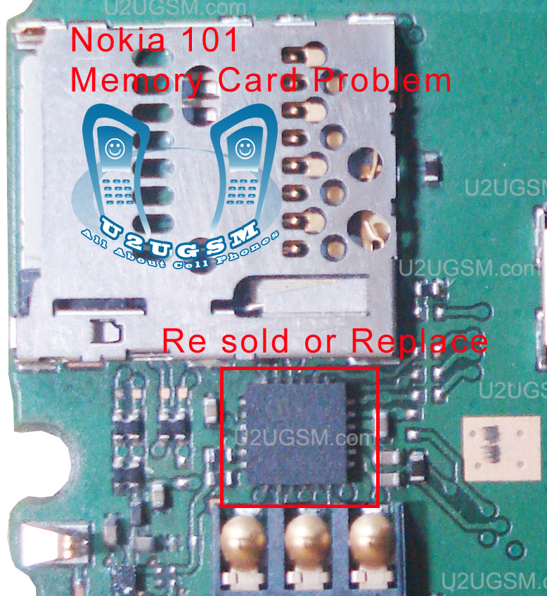 Cell Firmware     Nokia    101 MMC Memory Card Problem Solution