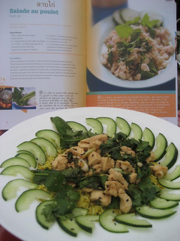 Salade au poulet laab gai la mode de la cuisine de rue for Cuisine a la mode