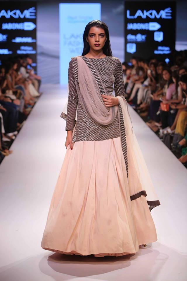Payal Singhal Lakmé Fashion week a/w 2015