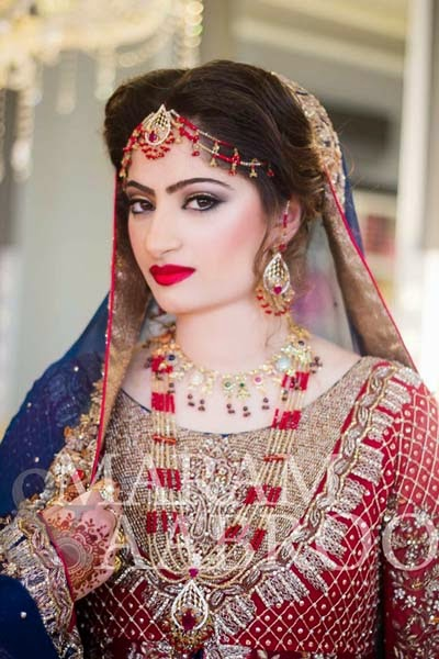 Bridal makeup artist maram
