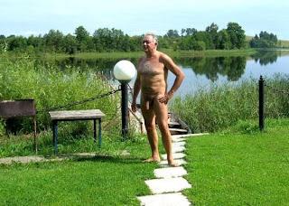 Older men in summer pack