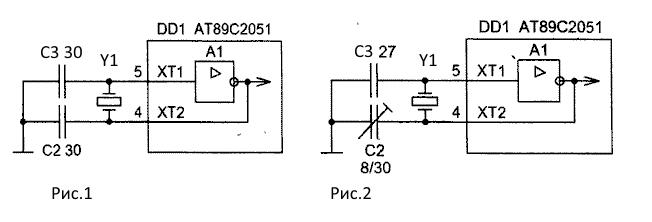 схемы тактового генератора