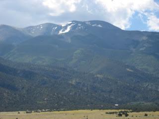 picture of sangre de cristo mountains