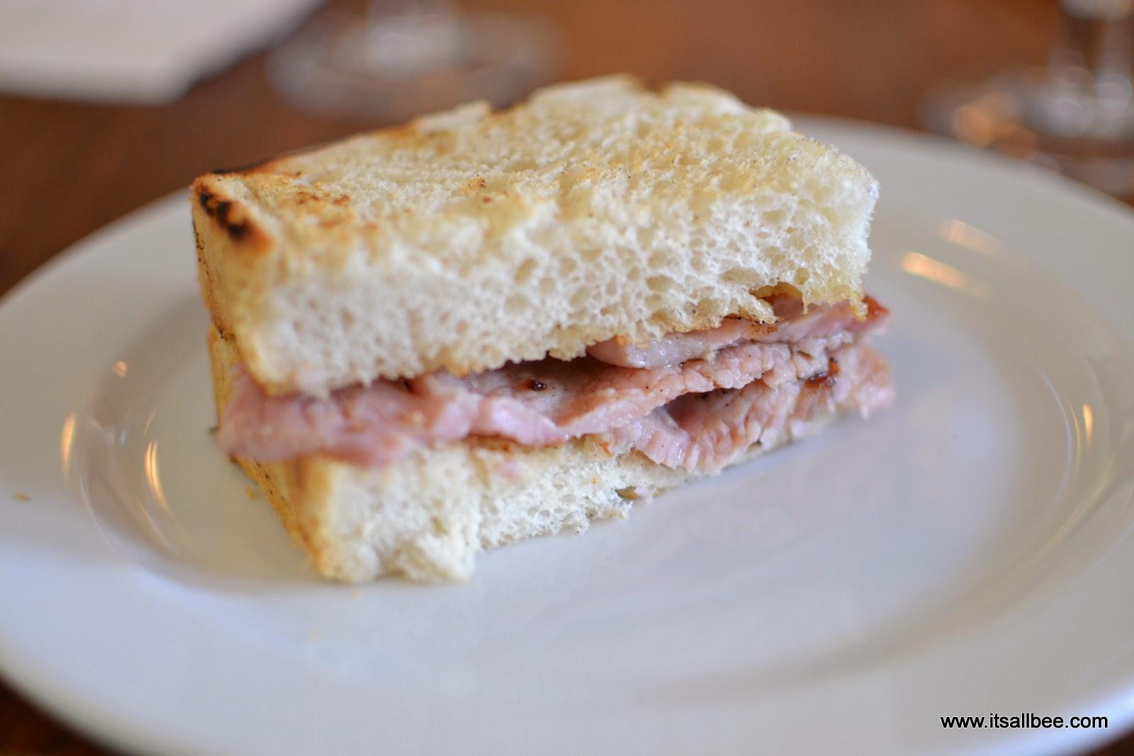 Bacon Roll London
