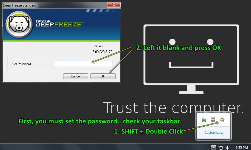 Deep Freeze Key Generator
