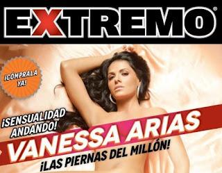 Vanessa Arias en Revista H Extremo Abril 2012