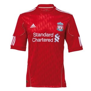 Liverpool New Home Jersey 2012