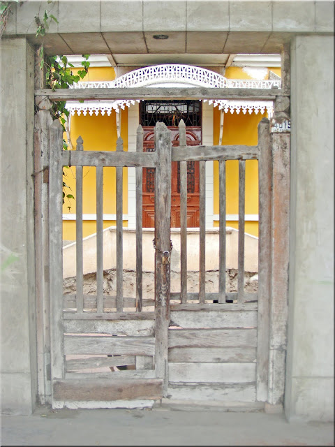Gate to Old House
