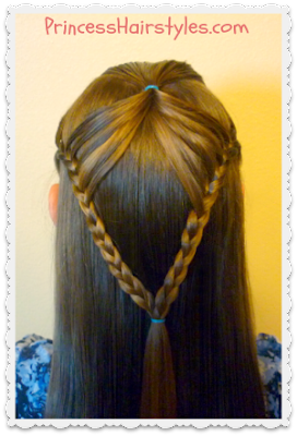 Fairy Wings Braid, Half Up #Hairstyles Tutorial