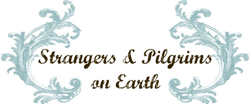 Strangers &amp; Pilgrims on Earth