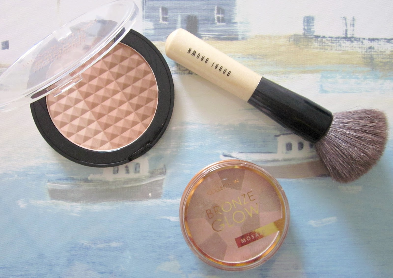 Make Up Revolution bronzer and Collection mosaic bronzer