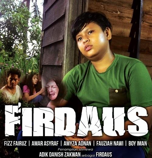 Sinopsis drama Firdaus TV3, gambar drama Firdaus, sinopsis drama TV3 Firdaus Ceraka hari Ahad, pelakon drama Firdaus TV3