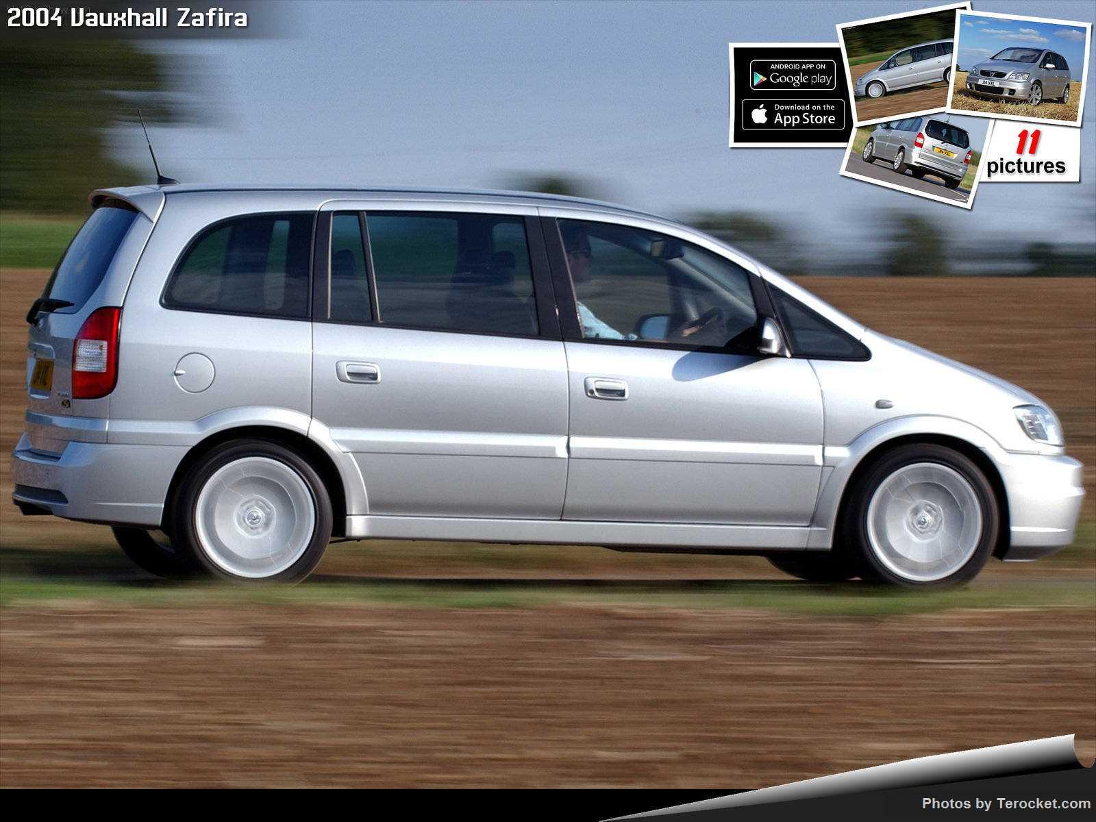Hình ảnh xe ô tô Vauxhall Zafira 2004 & nội ngoại thất
