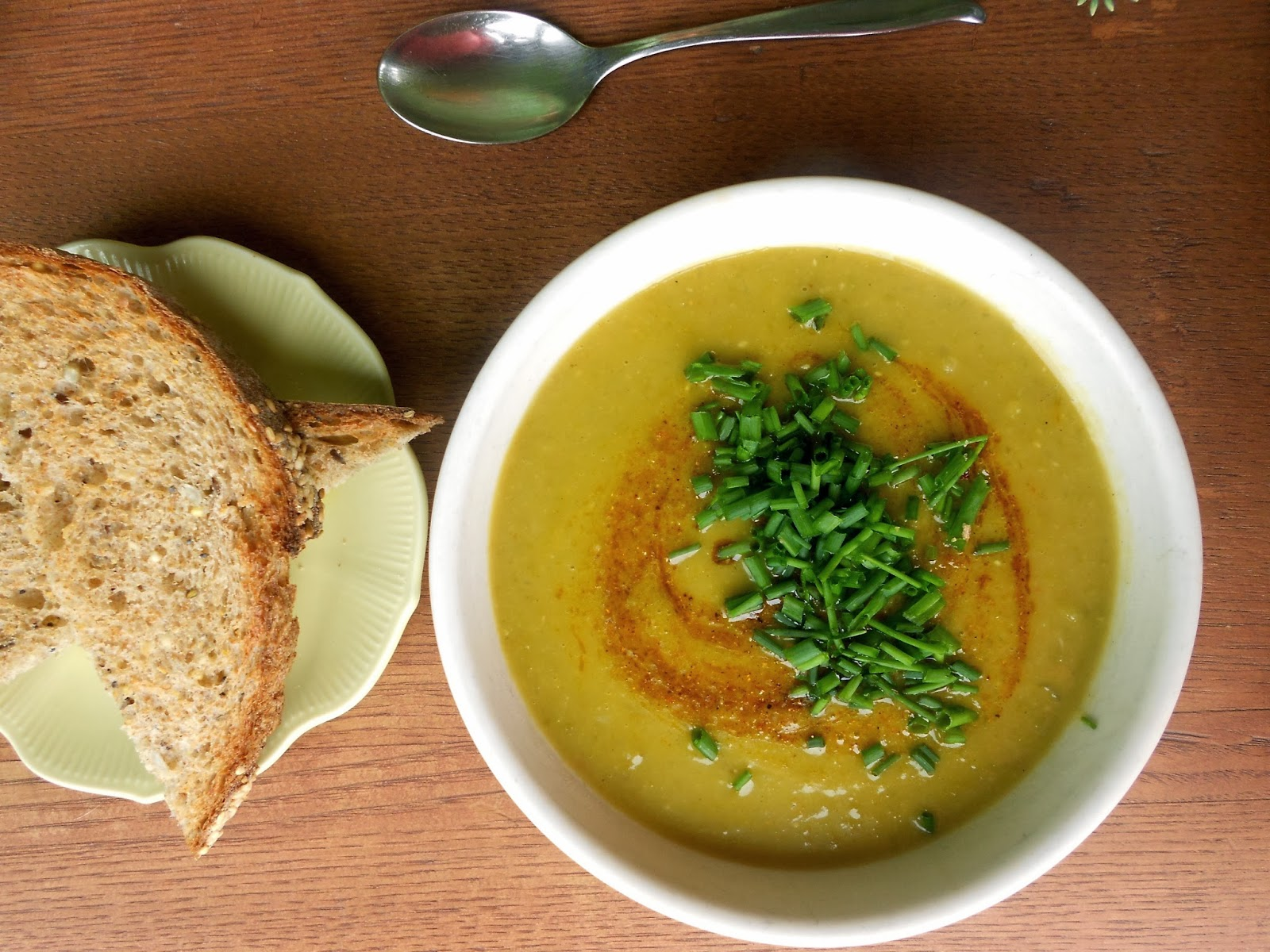 Savouring Stella: Curried Green Lentil Soup with Browned Butter