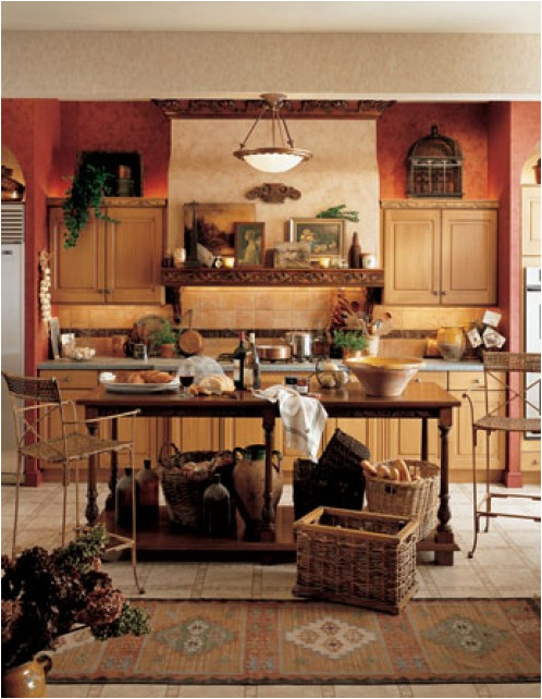 Tuscan kitchen ideas room design inspirations for Tuscan design