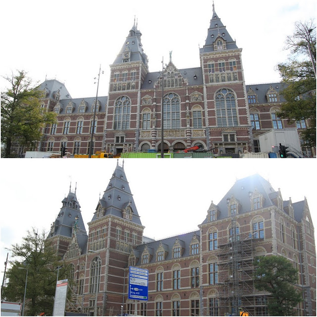 Amsterdam Museum on renovation in Amsterdam, Netherlands