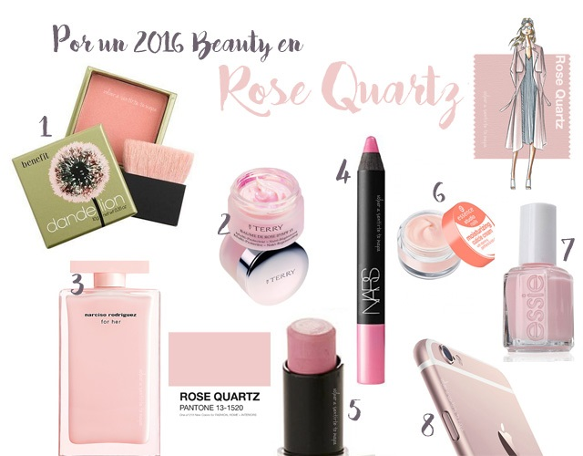 Por un 2016 en Rose Quartz: 8 Beauty productos para conquistarte