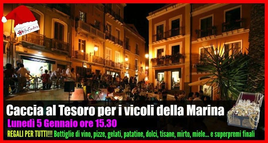 CACCIA AL TESORO PER LE STRADE DELLA MARINA - LUN 5 GEN