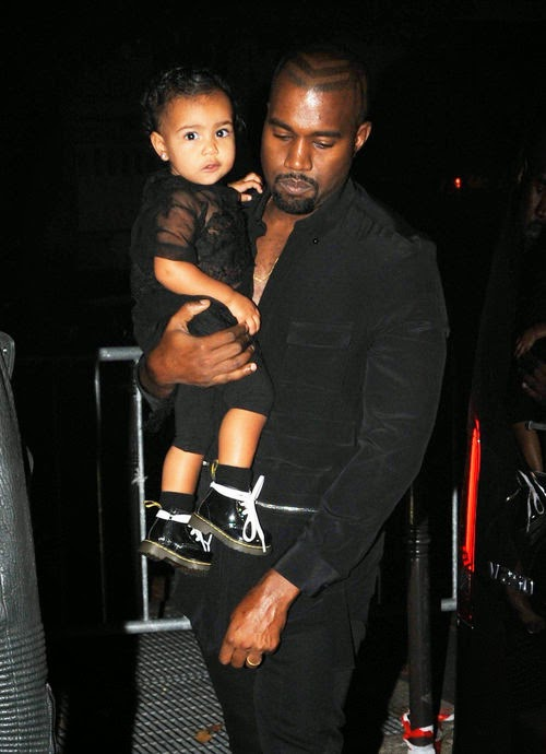 € 77,000 under the X-mas tree | The gift-noise: Kanye West coddled Nori